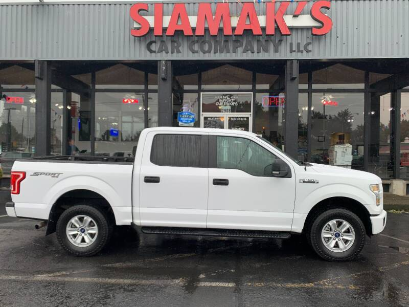 2015 Ford F-150 for sale at Siamak's Car Company llc in Salem OR