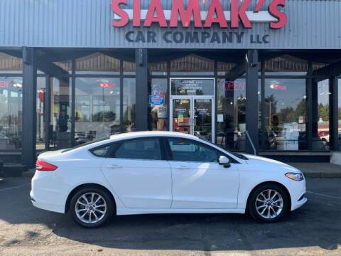 2017 Ford Fusion for sale at Siamak's Car Company llc in Salem OR