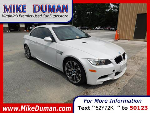 2011 BMW M3 for sale in Suffolk, VA