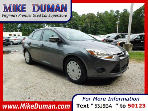 2014 Ford Focus for sale in Suffolk, VA