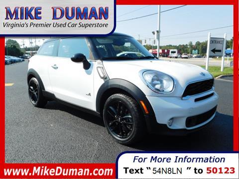 2013 MINI Paceman for sale in Suffolk, VA