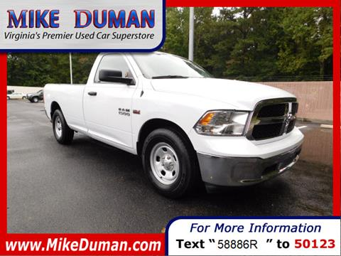 2016 RAM Ram Pickup 1500 for sale in Suffolk, VA