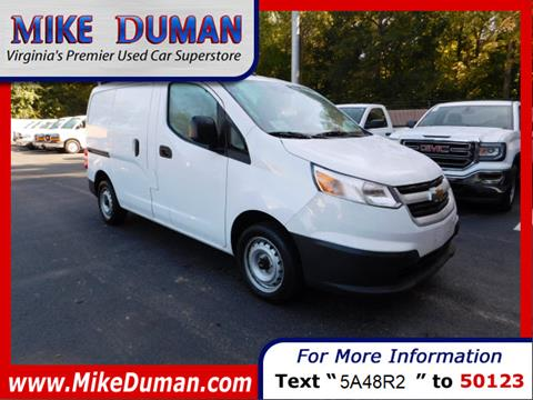 2015 Chevrolet City Express Cargo for sale in Suffolk, VA