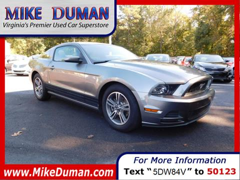 2013 Ford Mustang for sale in Suffolk, VA
