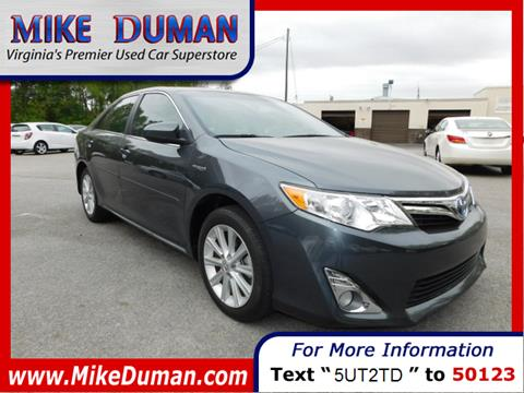 2013 Toyota Camry Hybrid for sale in Suffolk, VA