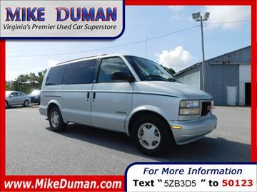 1996 GMC Safari for sale in Suffolk, VA