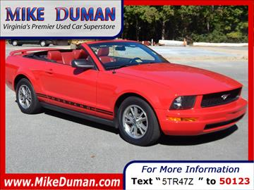 2005 Ford Mustang for sale in Suffolk, VA