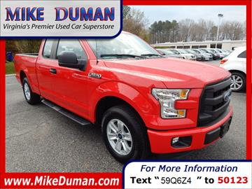 2015 Ford F-150 for sale in Suffolk, VA