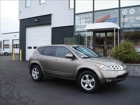 2004 Nissan Murano for sale at Advance Auto Center in Rockland MA