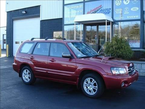 2004 Subaru Forester for sale at Advance Auto Center in Rockland MA