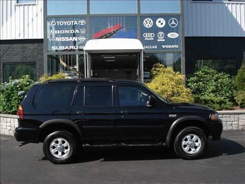 2003 Mitsubishi Montero Sport for sale at Advance Auto Center in Rockland MA