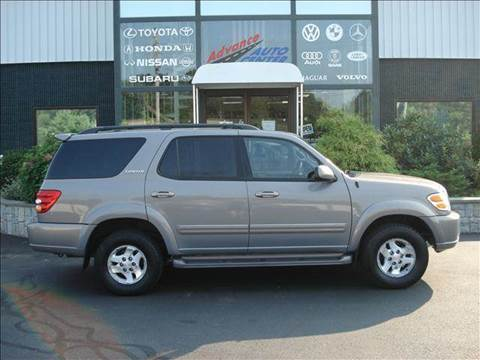 2001 Toyota Sequoia for sale at Advance Auto Center in Rockland MA