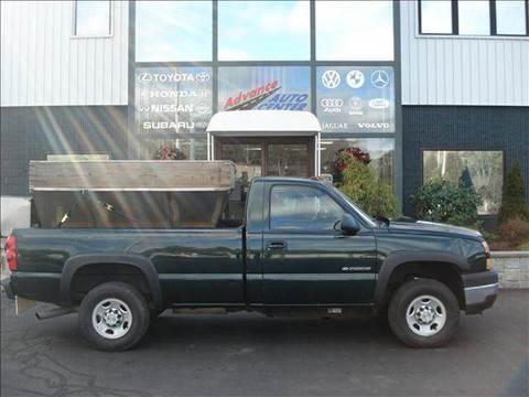 2006 Chevrolet Silverado 2500 for sale at Advance Auto Center in Rockland MA