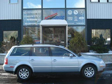 2003 Volkswagen Passat for sale at Advance Auto Center in Rockland MA