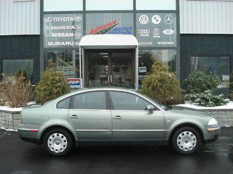 2002 Volkswagen Passat for sale at Advance Auto Center in Rockland MA
