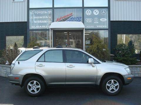 2002 Lexus RX 300 for sale at Advance Auto Center in Rockland MA
