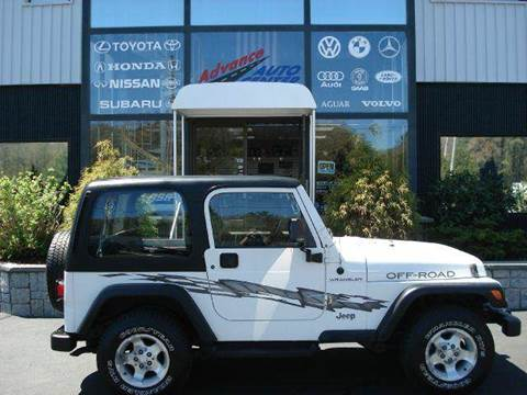 1999 Jeep Wrangler for sale at Advance Auto Center in Rockland MA