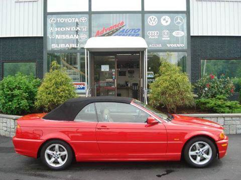 2003 BMW 3 Series for sale at Advance Auto Center in Rockland MA