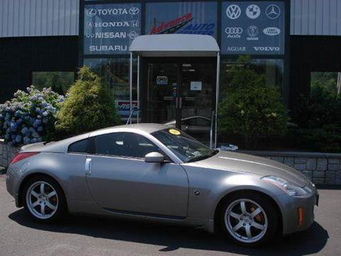 2003 Nissan 350Z for sale at Advance Auto Center in Rockland MA