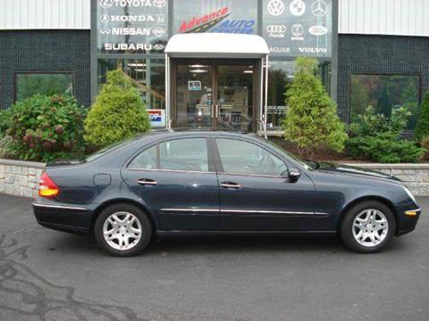 2003 Mercedes-Benz E-Class for sale at Advance Auto Center in Rockland MA