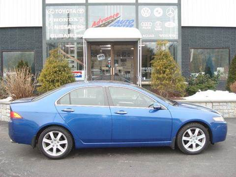 2004 Acura TSX for sale at Advance Auto Center in Rockland MA
