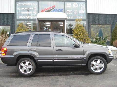 2002 Jeep Grand Cherokee for sale at Advance Auto Center in Rockland MA