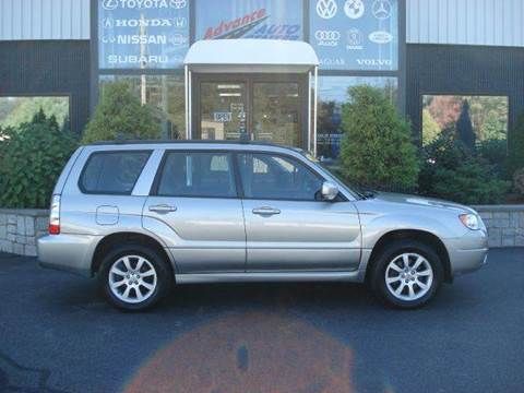 2006 Subaru Forester for sale at Advance Auto Center in Rockland MA