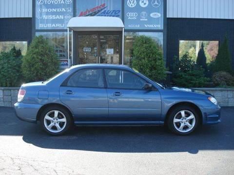 2007 Subaru Impreza for sale at Advance Auto Center in Rockland MA