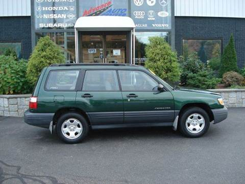2002 Subaru Forester for sale at Advance Auto Center in Rockland MA