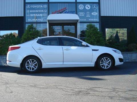 2011 Kia Optima for sale at Advance Auto Center in Rockland MA