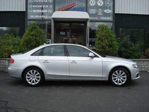 2009 Audi A4 for sale at Advance Auto Center in Rockland MA