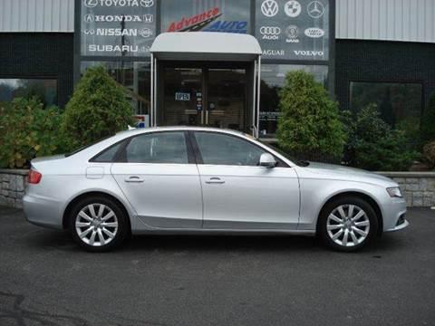 2009 Audi A4 for sale at Advance Auto Center in Rockland MA