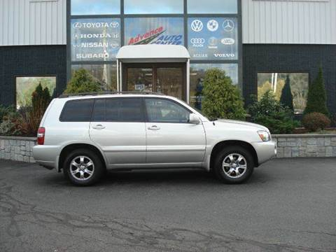2004 Toyota Highlander for sale at Advance Auto Center in Rockland MA