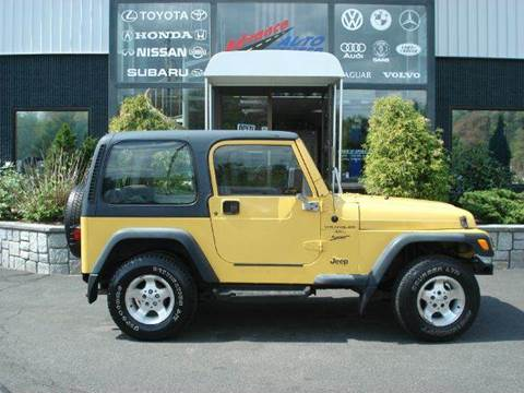 2000 Jeep Wrangler for sale at Advance Auto Center in Rockland MA