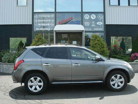 2007 Nissan Murano for sale at Advance Auto Center in Rockland MA