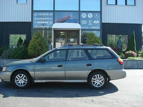2000 Subaru Outback for sale at Advance Auto Center in Rockland MA
