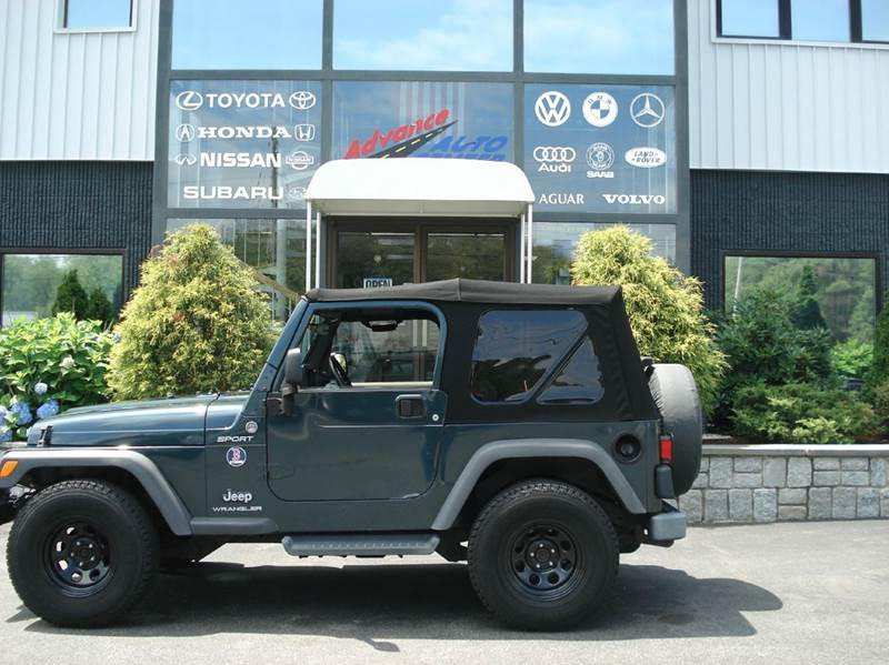 2005 Jeep Wrangler for sale at Advance Auto Center in Rockland MA