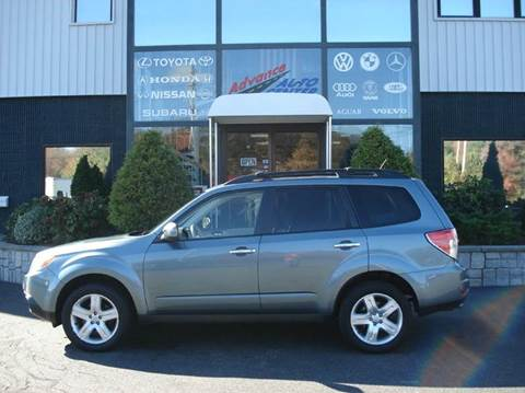 2009 Subaru Forester for sale at Advance Auto Center in Rockland MA