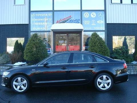 2012 Audi A6 for sale at Advance Auto Center in Rockland MA