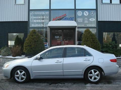 2005 Honda Accord for sale at Advance Auto Center in Rockland MA