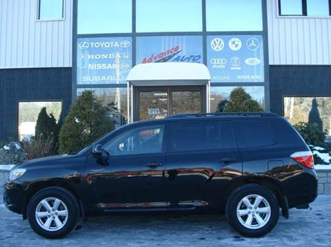 2010 Toyota Highlander for sale at Advance Auto Center in Rockland MA