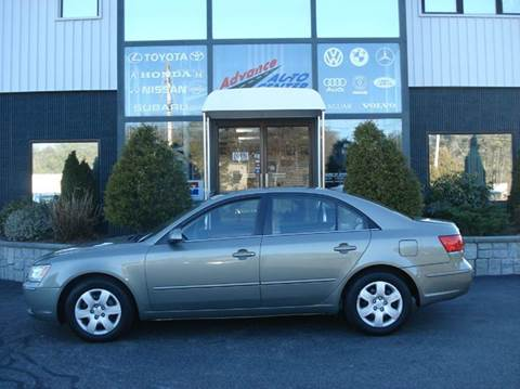 2009 Hyundai Sonata for sale at Advance Auto Center in Rockland MA