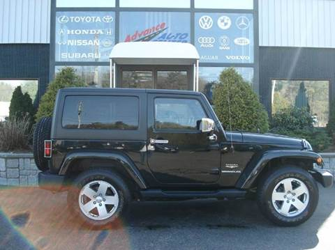 2012 Jeep Wrangler for sale at Advance Auto Center in Rockland MA