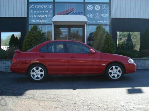 2005 Nissan Sentra for sale at Advance Auto Center in Rockland MA