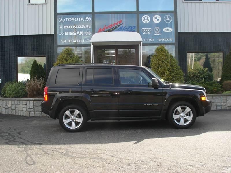2014 Jeep Patriot for sale at Advance Auto Center in Rockland MA