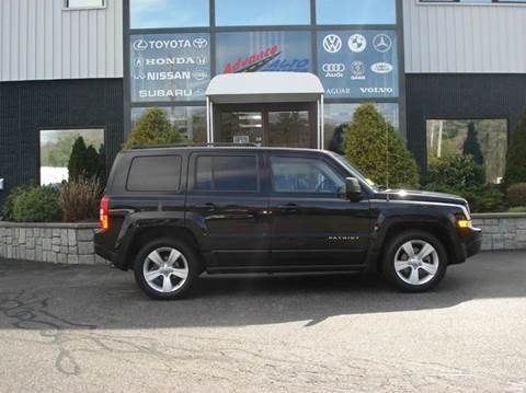 2014 Jeep Patriot for sale at Advance Auto Center in Rockland MA