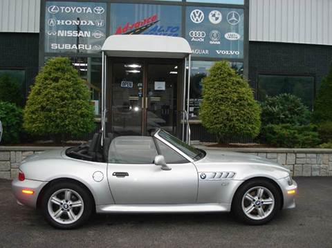 2000 BMW Z3 for sale at Advance Auto Center in Rockland MA