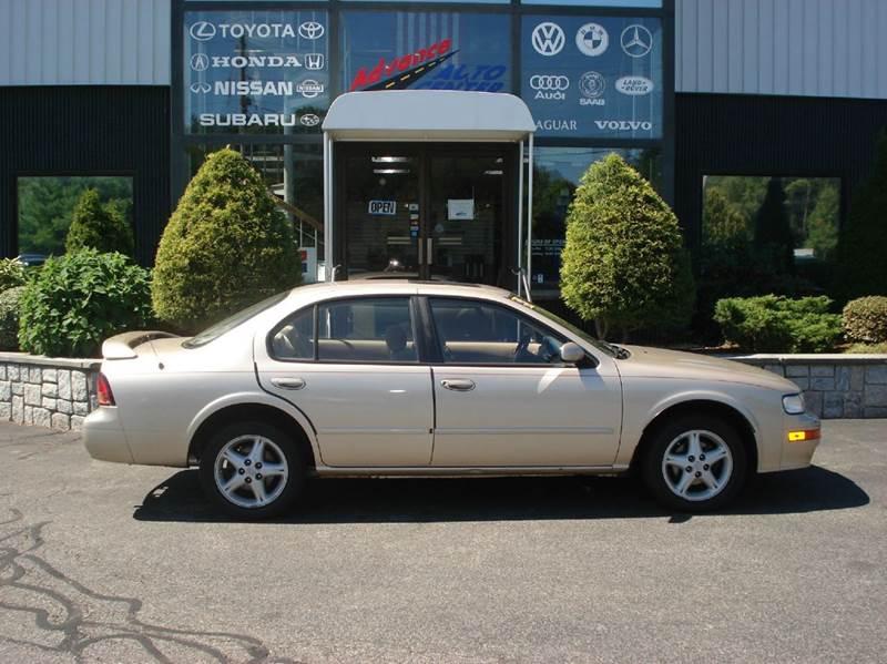 1998 Nissan Maxima for sale at Advance Auto Center in Rockland MA