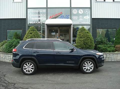 2015 Jeep Cherokee for sale at Advance Auto Center in Rockland MA