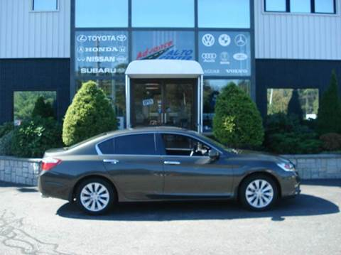 2014 Honda Accord for sale at Advance Auto Center in Rockland MA